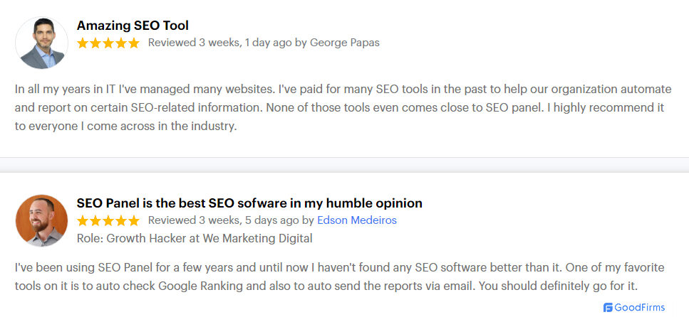 seo software reviews
